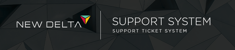 Support Helpdesk NewDelta Distribution